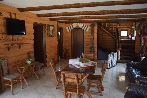 Interiorul pensiunii Lacul Mocearu