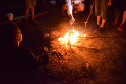 Perpelind carnati de Plescoi la foc