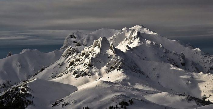 Tabara de iarna in Muntii Ciucas