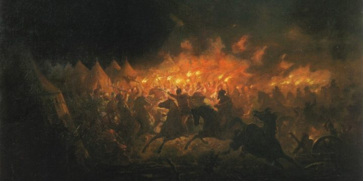 Excursie de evocare a atacului de noapte al lui Vlad Tepes